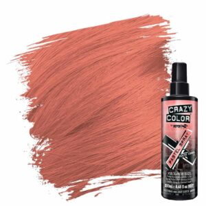 crazy color pastel spray oransje hårfarge spray peachy coral 002451