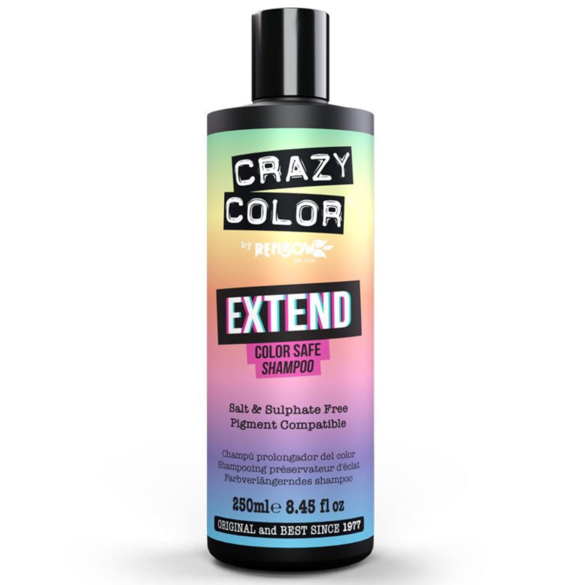crazy color shampoo hårfarge forlengede sjampo extend 002558