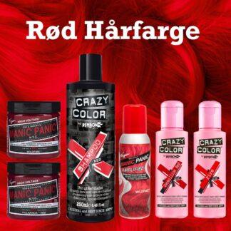 Rød Hårfarge