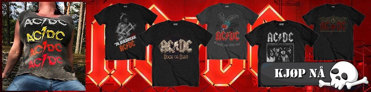 AC/DC Shot In The Dark t-skjorte banner bilde
