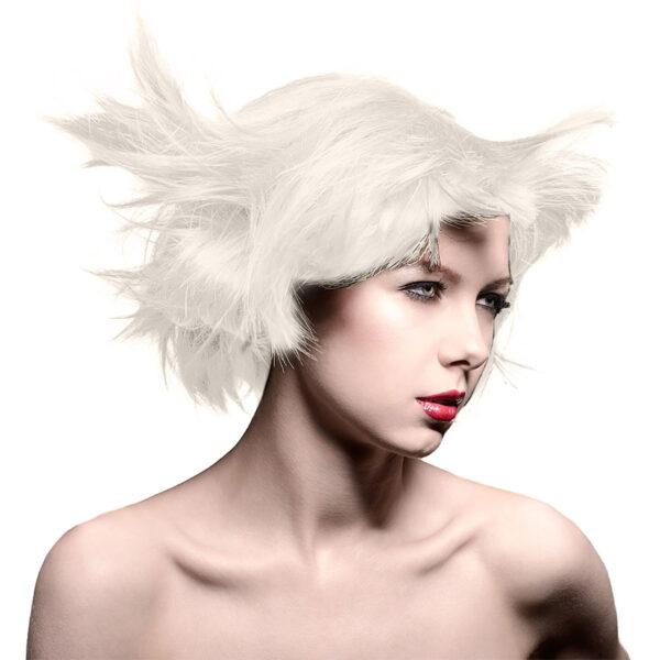 manic panic classic high voltage sølv hårfarge 118ml virgin snow toner model 40887
