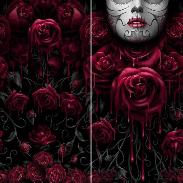 blood rose heltrykt buff multilue K018A810