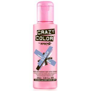 crazy color hårfarger sølvblå hårfarge slate 002294