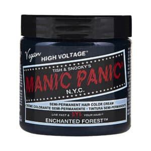 manic panic classic high voltage grønn hårfarge 118ml enchanted forest pot 62936