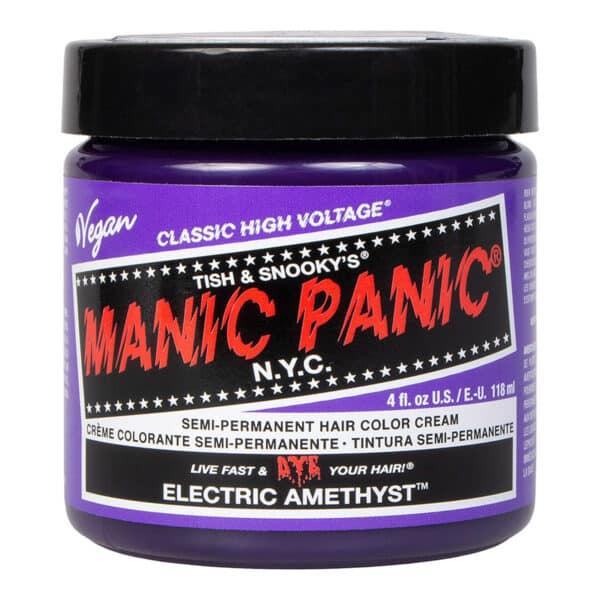 manic panic classic high voltage lilla hårfarge 118ml electric amethyst pot 62935