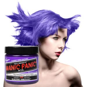 manic panic classic high voltage lilla hårfarge 118ml electric amethyst model pot 62935