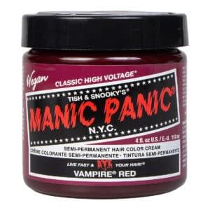 manic panic classic high voltage rød hårfarge 118ml vampire red pot 40888