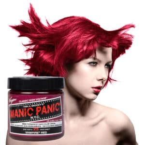 manic panic classic high voltage rød hårfarge 118ml vampire red model pot 40888
