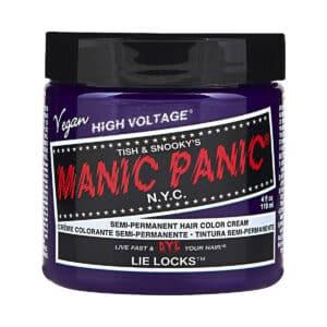manic panic classic high voltage lilla hårfarge 118ml lie locks pot 62938