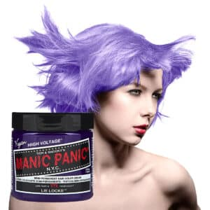 manic panic classic high voltage lilla hårfarge 118ml lie locks model pot 62938