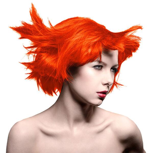 manic panic classic high voltage oransje hårfarge 118ml psychedelic sunset model 70432
