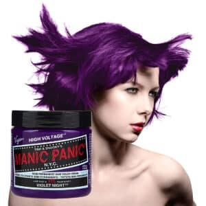 manic panic classic high voltage lilla hårfarge 118ml violet night model pot 70438