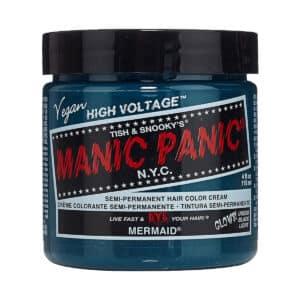 manic panic classic high voltage blågrønn hårfarge 118ml mermaid pot 70451