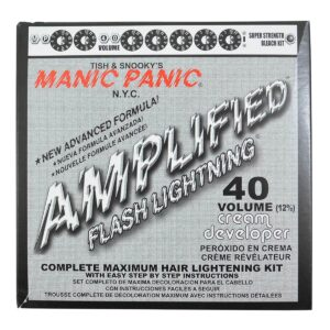 manic panic flash lightning blekemiddel sett 40 volume 44203
