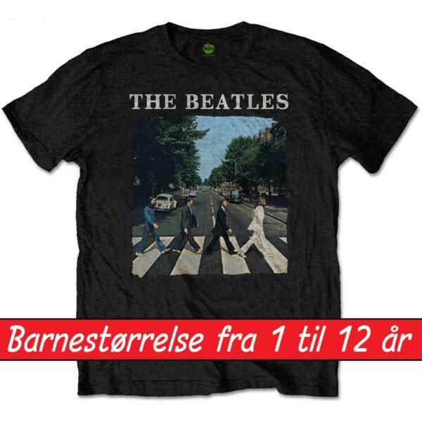beatles t-skjorte til barn abbey road BEATTEEP46BB