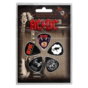 AC/DC plekter sett rock anthems PP004