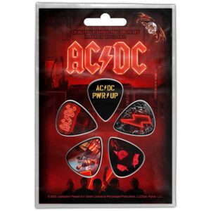 Angus Young plekter sett AC/DC Power Up PP043