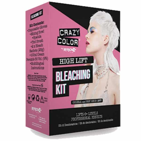 crazy color bleaching kit blekemiddel sett 30 volume 002397