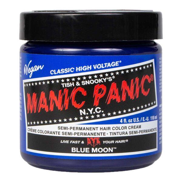 manic panic classic high voltage blå hårfarge 118ml blue moon pot 70420