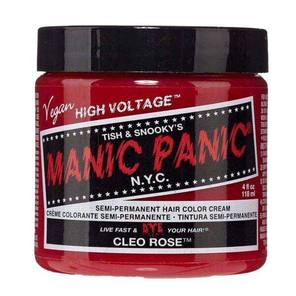 manic panic classic high voltage rosa hårfarge 118ml cleo rose pot 70421