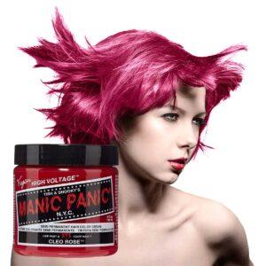 manic panic classic high voltage rosa hårfarge 118ml cleo rose model pot 70421
