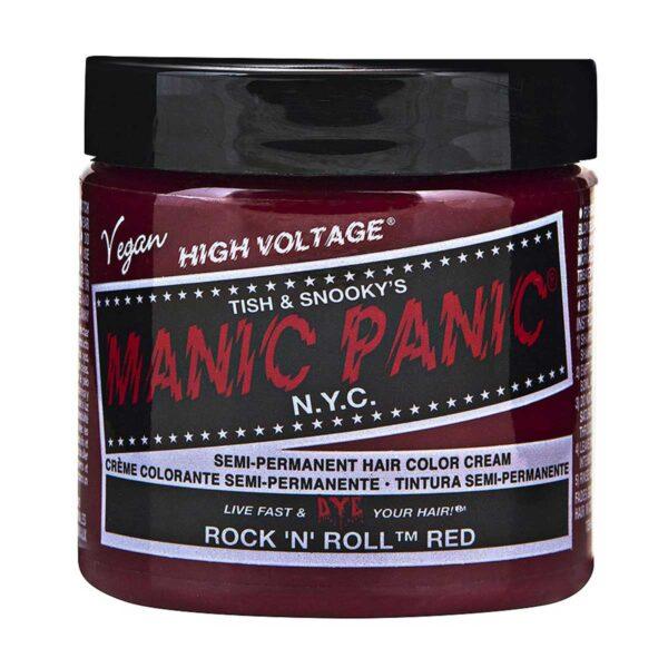 manic panic classic high voltage rød hårfarge 118ml rock 'n' roll red pot 70429