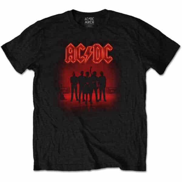 AC/DC t-skjorte til herre med PWR-UP motiv ACDCTS84MB