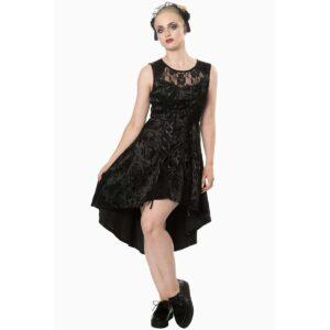 banned kjole i gotisk stil skull candy DR5207