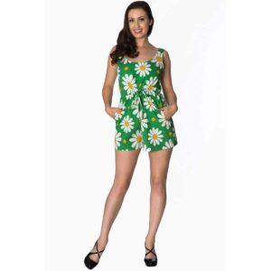 jumpsuit 70 talls look til dame crazy daisy PL8044