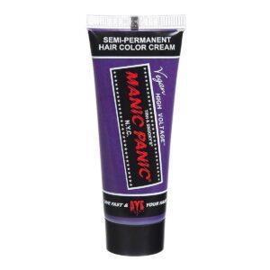 manic minis lillablå harfargeprøve ultra violet blue sample 70569